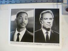"Vintage Glossy Press Photo Will Smith Tommy Lee Jones Heads ""Men In Black"" 1997"