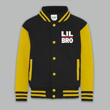 Boys Varsity Kids Jacket Lil Brother Hip Hop Run DMC style