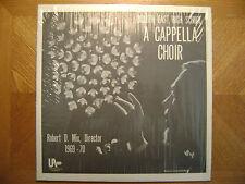 UNIVERSAL AUDIO  LP RECORD/ DULUTH MINNESOTA HIGH SCHOOL/ A CAPPELLA CHOIR/EX