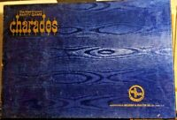 Vintage 1968 Party Game Charades By Selchow & Righter - Complete