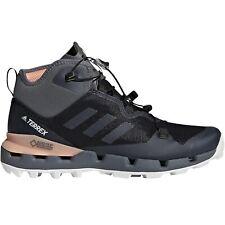 adidas Performance Womens Terrex Fast Mid GTX Surround Hiking Boots - Black/Pink