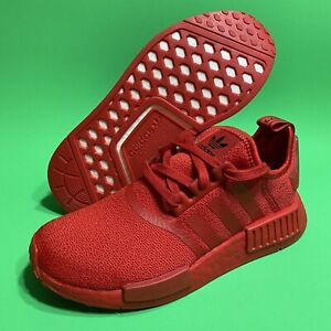 NEW Adidas NMD_R1 Triple Red Scarlet Women's SIZE 6.5 Running Shoes FZ3601 NMD