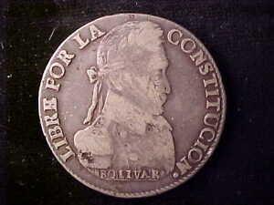 BOLIVIA 8 SOLES 1836LM