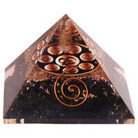 Turmalinkristall Orgonit Pyramide Meditation Energieerzeuger Aum Vastu Chakra