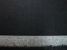 100% WOOL BLACK IN COLOR BY THE YARD FOR SUITS, PANTS, AND SKIRTS 60