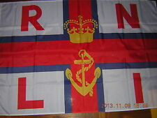 British Empire Flag Rnli Royal National Lifeboats Institution white Ensign 3X5