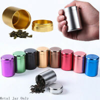 Storage Waterproof Mini Metal Cans Sealed Container Tea Box Herb Stash Jar