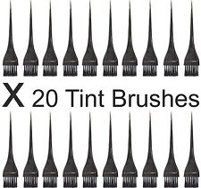 Tinting Brushes For Hair Colours Tinting Dyes Bleach PACK OF 20. Superb Quality