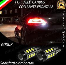 LAMPADE RETROMARCIA 13 LED T15 W16W CANBUS PER VW SCIROCCO 6000K NO AVARIA