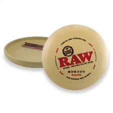 RAW FRISBEE ROLLING TRAY - RAW FLYING DISC ROLLING TRAY TOBACCO ROLLING TRAY
