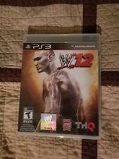 WWE 2K12 (Sony PlayStation 3) ps3