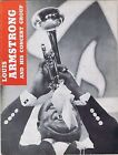 Louis Armstrong And His Concert Group - Program ca 1950