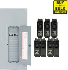 Square-D 225-Amp 30-Space 60-Circuit Indoor Main Breaker Panel Box Load Homeline