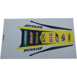 Factory Effex Rear Fender Graphic - Husqvarna | 22-32640