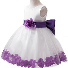 Mädchen Kinder Festkleider Prinzessin Abendkleid Blume Sommer Party Tutu Kleider
