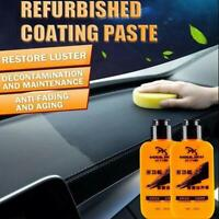 120ml Auto Leather Renovated Coating Paste Pflegemittel Staubdicht