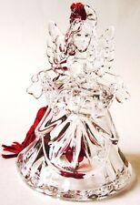 """Waterford Crystal Marquis Angel Bell Ornament, Noel 4"""" Germany"""