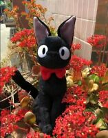 New 30cm Cute KIKI'S DELIVERY SERVICE JIJI CAT Plush Stuffed Doll Toys