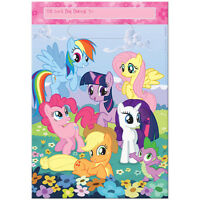 MY Little Pony FAVOR BAGS (8) ~ Birthday Party Supplies Plastic Treat Loot Goody