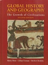 GLOBAL HISTORY and GEOGRAPHY THE GROWTH OF CIVILIZATIONS   ISBN#978567656770