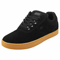 Etnies Joslin Mens Black Gum Suede & Synthetic Skate Trainers