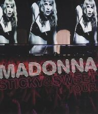 "Madonna ""sticky & sweet tour"" CD + Blu ray NEUF"