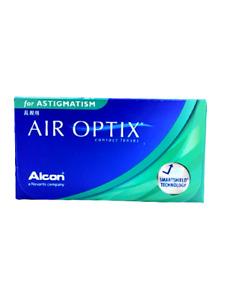 Alcon Kontaktlinsen Air Optix for Astigmatism, verschieden Stärken, 1 x 6 Stück
