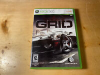GRID (Microsoft Xbox 360, 2008) No Manual Tested Working