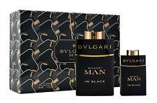 Bvlgari Man in Black 60ml Eau de Parfum & 15 ml Eau de Parfum