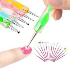 Nail Art Design Set 20pcs/set Dotting Painting Drawing Polish Brush Pen Tools ZK