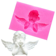 3D Fairy Wing Silicone Fondant Mold Chocolate Cake Decorating Baking Mould LH