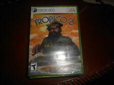 Tropico 3  (Xbox 360, 2010) **Brand New Factory Sealed**Free Shipping**