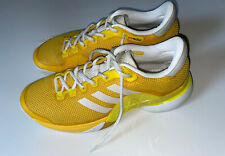 Adidas Barricade 2017 Boost Tennis Shoes  - Equestrian Yellow/White (9.5)