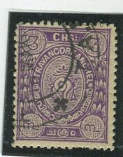 India - Feudatory States - Nowanuggar Stamps Scott  #14 Used,Fine-VF  (X6834N)