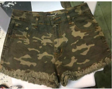 BKK CAMOUFLAGE HIGH WAIST SHORT MEDIUM