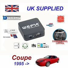For Fiat Coupe USB AUX SD Memory Stick Card Reader music streaming module 8 pin
