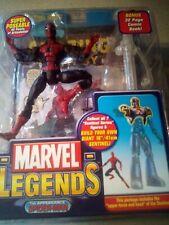 2005 Marvel Sentinel Series Marvel Legends Spider-Man With Comic Book