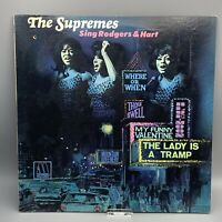 The SUPREMES Sing Rodgers & Hart Vinyl 1967 Album Motown 659 Detroit