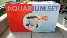 Aquarium LIVING WORLD 60 L. / Gebraucht mit Zubehör und OVP, Sehr guter Zustand