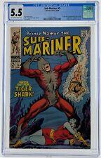 Sub-Mariner #5 CGC 5.5 1st Appearance of Tiger Shark