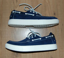 POLO RALPH LAUREN Deck 100 Boat Shoes Suede Navy Color Men's Size 11 - NEW