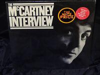 Paul McCartney The McCartney Interview Sealed Vinyl Lp Record Album USA 1980
