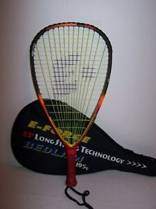 "E-Force Bedlam Lite 170 Titanium Tri-Carbon Racquetball Racquet 3 5/8"" Grip"