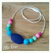 Silicone Necklace Fashion Girls Womens Jewellery Sensory No BPA Funky Beads