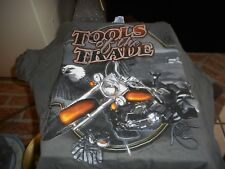 New Mint with Tags Large Tools of the Trade Eagle Motorcycle T Shirt
