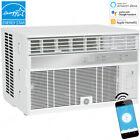 GE 12000 BTU Smart Window Air Conditioner, 550 Sq Ft Room Home WiFi AC 115V Unit photo