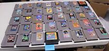 Lot of 40 Original Nintendo Nes Games Castlevania 2, Ghosts N Goblins, Metroid