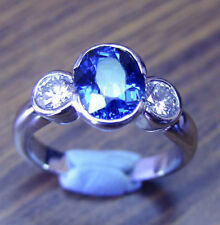 Heating Natural White Gold Fine Rings