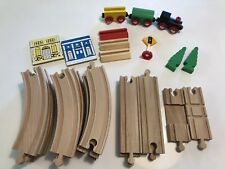 Wooden Train Lot Maxim Enterprise (Brio Compatible) 29 Piece Lot EUC