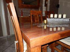 Tischschutz Folie 90x160cm transparent 2mm - Tischdecke Tischfolie Schutzfolie